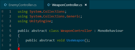 AbstractWeaponController